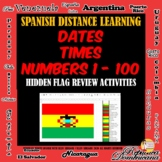 Online Spanish Review of Times - Dates - Numbers 1 - 100