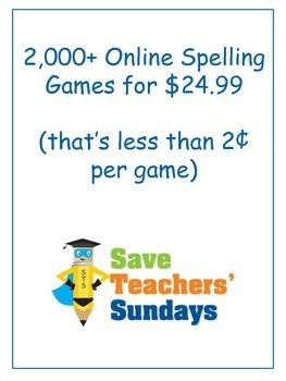 Online Spelling Games and Activities (Kindergarten to 5th Grade)