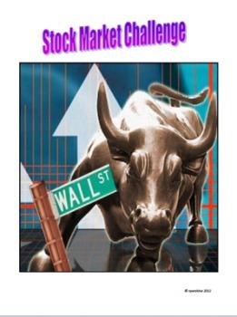 Online Stock Market Project: streamlined teacher instructions & student handouts
