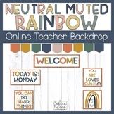 Online Teaching Distance Learning Backdrop