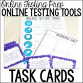 Online Testing Tools Task Cards {Online Test Prep}
