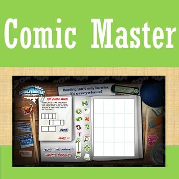 Online Tools - Comic Master - Creative Writing
