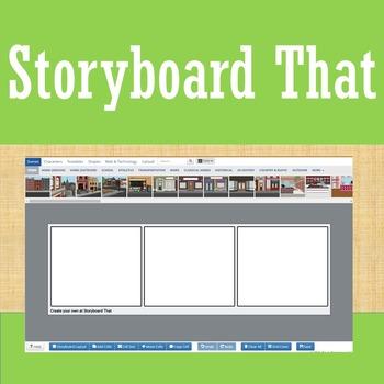Online Tools - Storyboard That - Prewriting