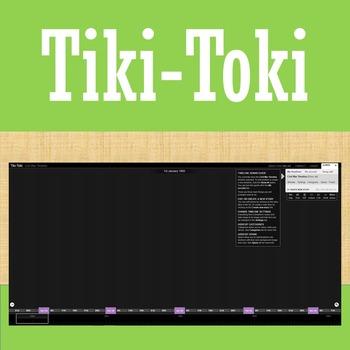 Online Tools - Tiki-Toki- Interactive Timeline Creator