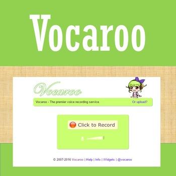 Online Tools - Vocaroo - Voice Recording Tool