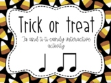 Online music lesson: Ta and Ti Ti candy sort