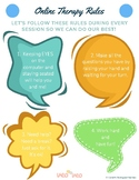 Online speech therapy rules for school age kids_Distance learning