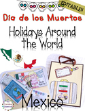 Halloween Activities:  Day of the Dead Holidays Around the World Mexico