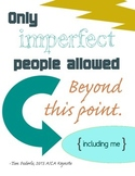 Only Imperfect People Allowed {blue green}
