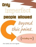 Only Imperfect People Allowed {peachy}