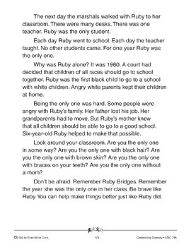 Only One: A Story of Ruby Bridges