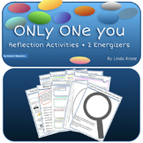 Only One You Reflection Activities (includes 2 energizers)