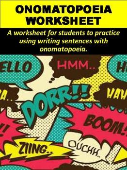 Onomatopoeia Worksheet