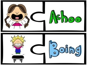 Onomatopoeia Activities