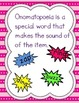 Onomatopoeia - 5 day ELA Guided Mini Lessons