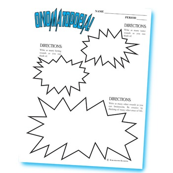 Onomatopoeia Activity (Group or Individual)