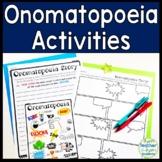 Onomatopoeia Activities & Posters: Word List, Write a Comi
