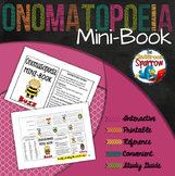 Onomatopoeia Mini-Book (A Perfect Addition to an ELA Interactive Notebook)