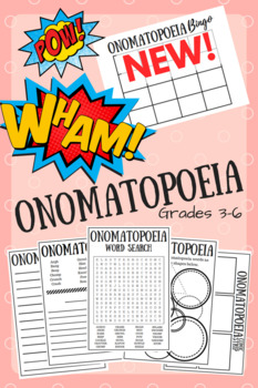 Onomatopoeia Activity Worksheets