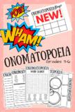 Onomatopoeia Activity Worksheets