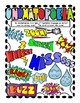 Onomatopoeia Anchor Chart Coloring Page for Interactive Notebooks