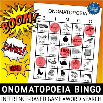 Onomatopoeia Bingo