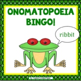 Onomatopoeia Bingo, Anchor Chart and Creative Writing!