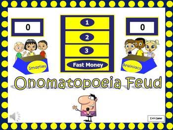 Onomatopoeia Feud Powerpoint