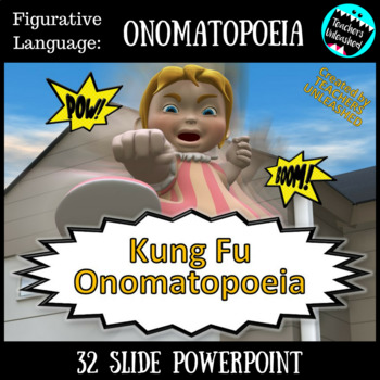 Onomatopoeia PowerPoint Lesson {Figurative Language}