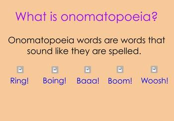 Onomatopoeia Flipchart