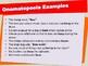 Onomatopoeia - Lesson Presentation (Figurative Language)
