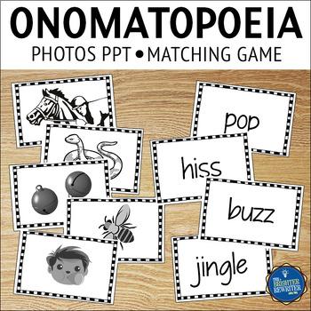 Onomatopoeia Matching Activities