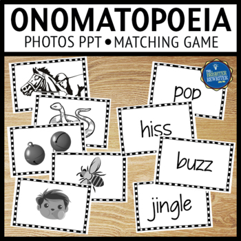 Onomatopoeia Matching Activities