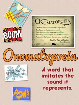 Onomatopoeia Mini Poster