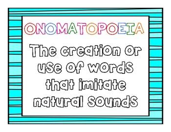Onomatopoeia Mini Posters