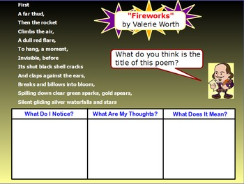 Onomatopoeia Poetry Mini-Lesson (ActivInspire)