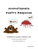 Onomatopoeia Poetry Response