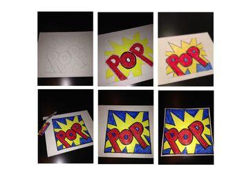 Onomatopoeia Pop Art Activity FREEBIE figurative language