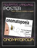 Figurative language poster: Onomatopoeia