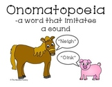 Onomatopoeia Poster and Booklet