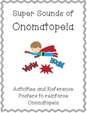 Onomatopoeia Posters & Activities