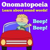 Onomatopoeia Activity | Onomatopoeia PowerPoint