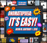 Onomatopoeia Powerpoint Lesson (Great for Poetry Standards)