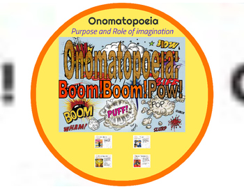 Onomatopoeia : Prezi Lesson and Exercises