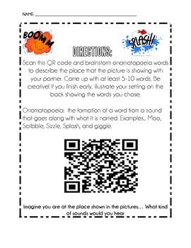 Onomatopoeia QR Codes