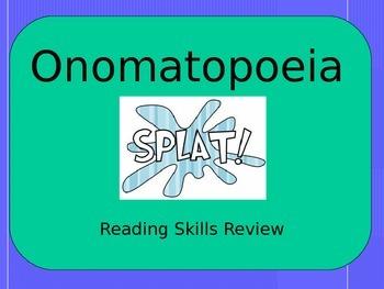 Onomatopoeia Review PowerPoint
