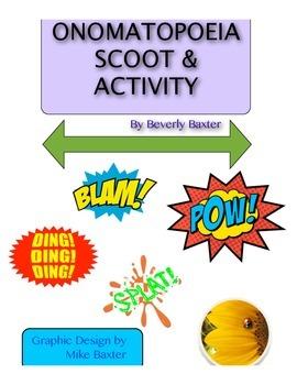 Onomatopoeia Scoot & Activity