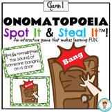 Onomatopoeia Spot It & Steal It Game #1