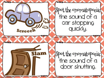 Onomatopoeia Spot It & Steal It Game #2
