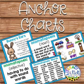 Onomatopoeia Task Cards for Grades 2-3